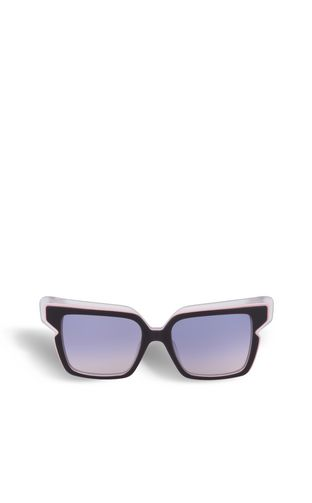 Multilayer geometric sunglasses