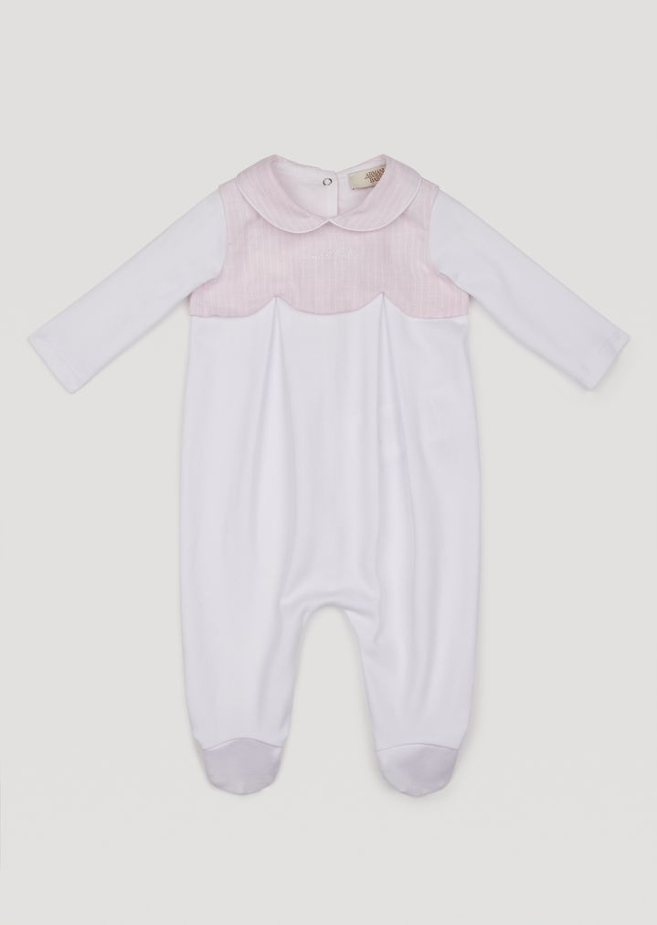 performance sportswear hot sale best online Cotton romper | Girl | Armani Junior