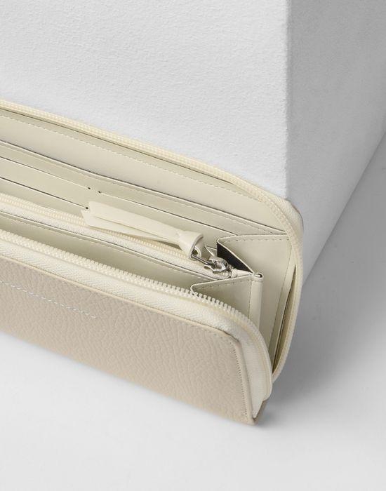 MM6 MAISON MARGIELA Calfskin and nylon wallet Wallet D d