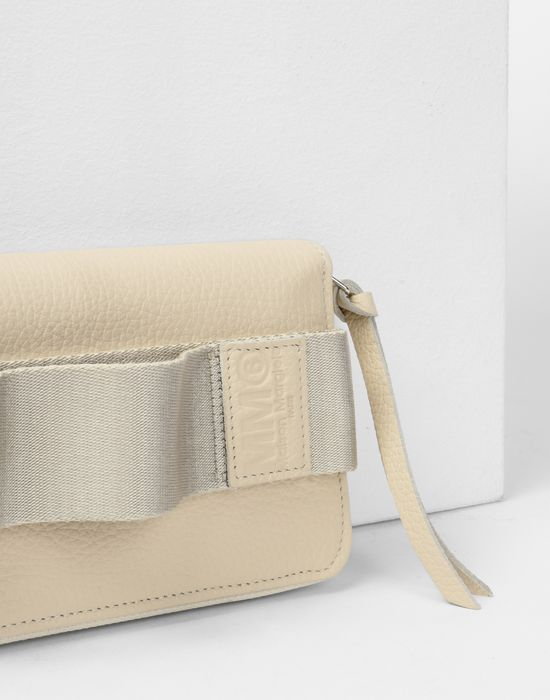 MM6 MAISON MARGIELA Calfskin and nylon wallet Wallet Woman e