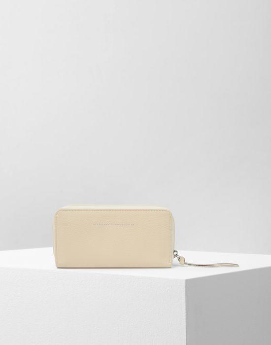MM6 MAISON MARGIELA Calfskin and nylon wallet Wallet Woman f