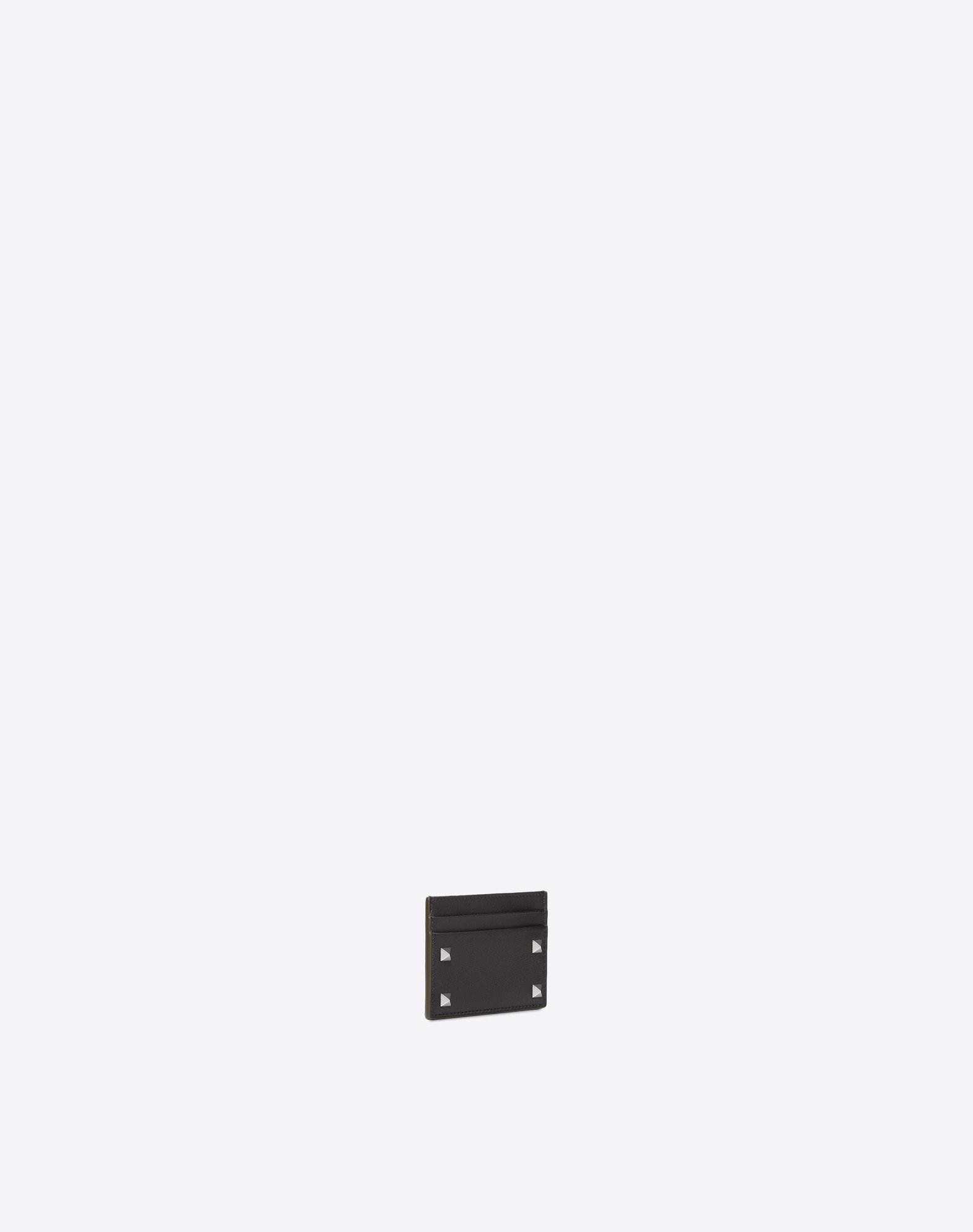 VALENTINO GARAVANI UOMO Rockstud Cardholder COIN PURSES & CARD CASES U r