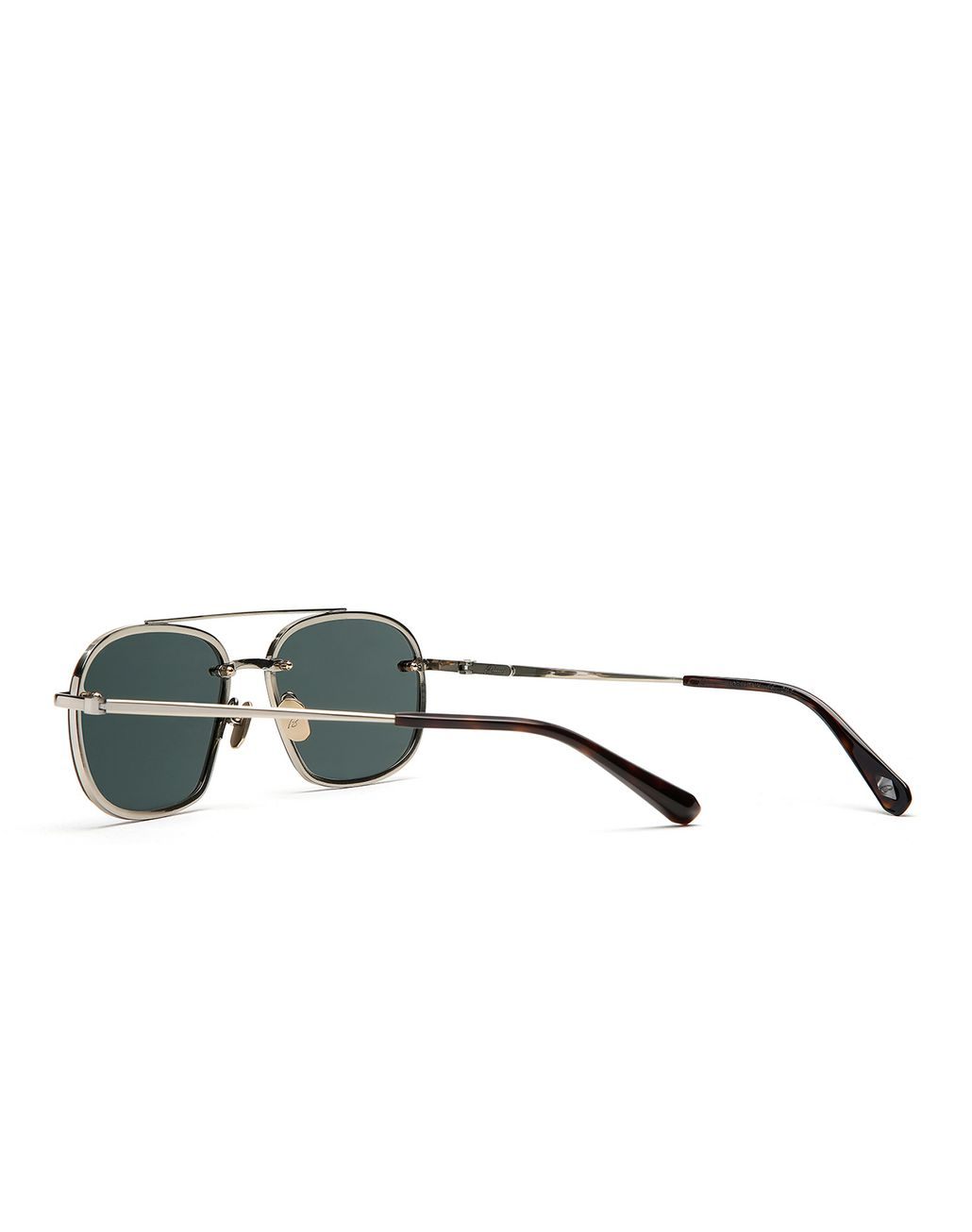 BRIONI Havana Geometric Shape Sunglasses with Grey Lenses   Sunglasses Man d