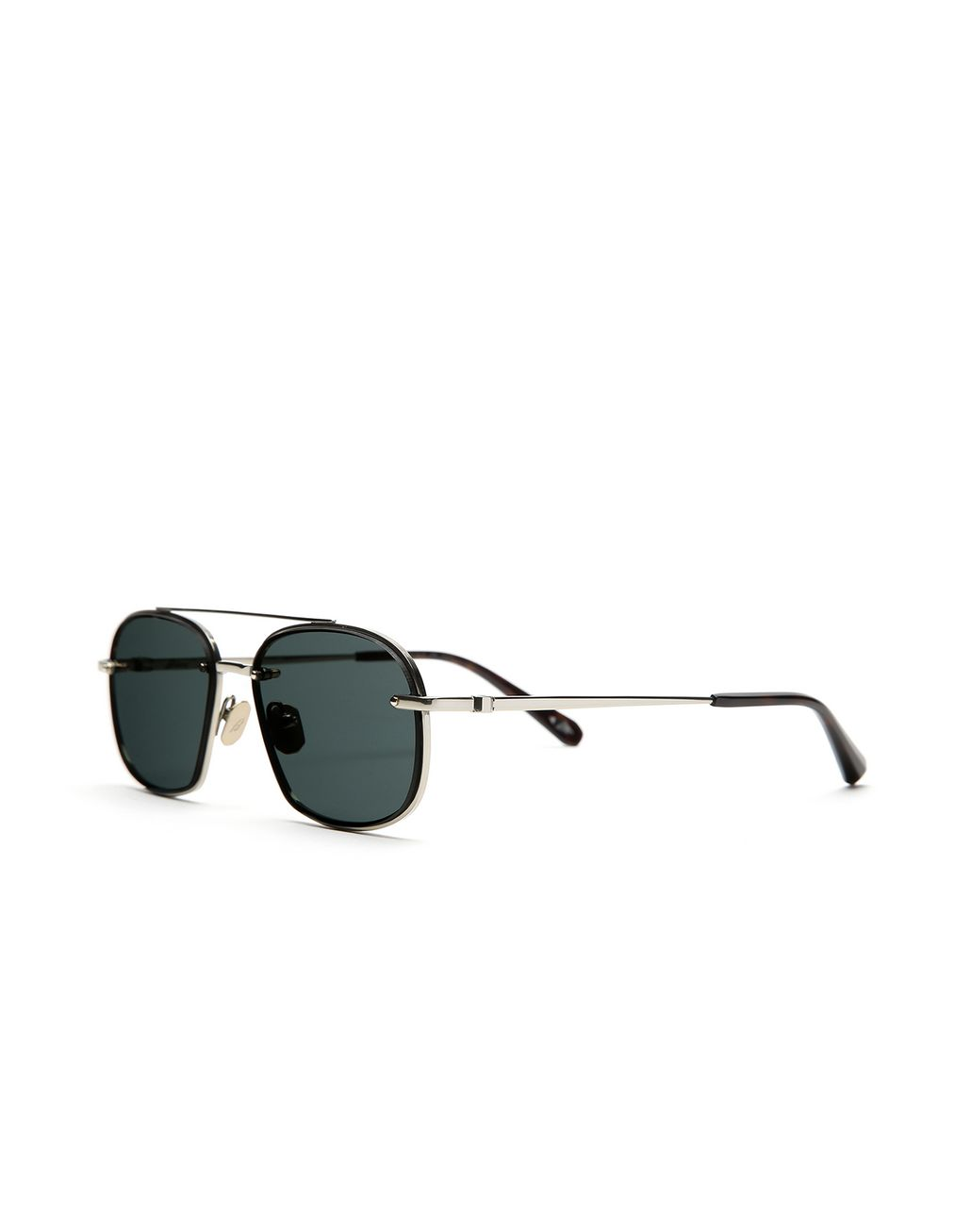 BRIONI Havana Geometric Shape Sunglasses with Grey Lenses   Sunglasses Man r