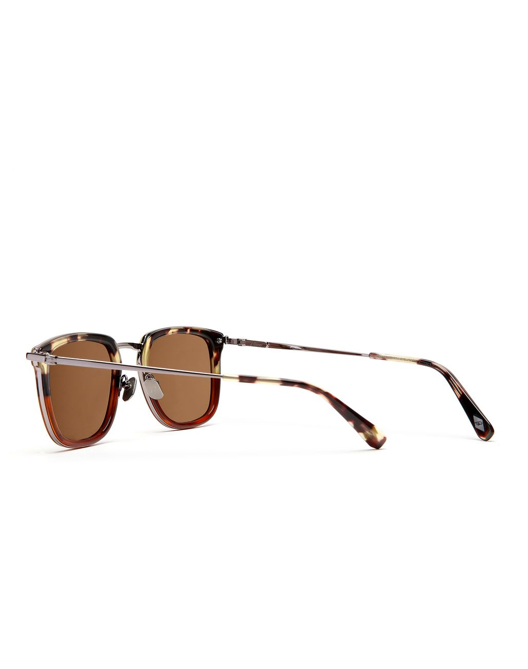BRIONI Havana Sunglasses with Brown Lenses  Sunglasses Man d