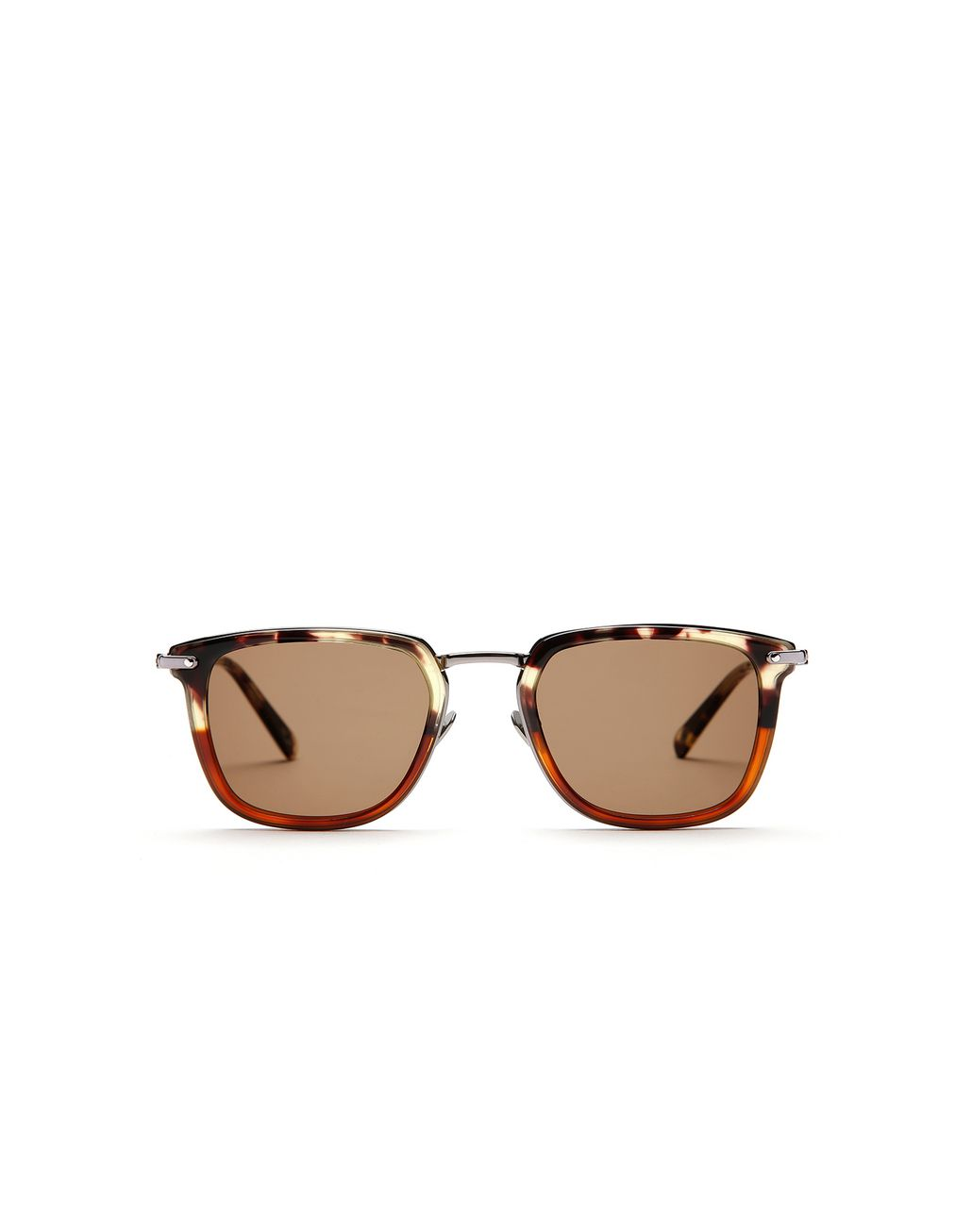 BRIONI Havana Sunglasses with Brown Lenses  Sunglasses Man f