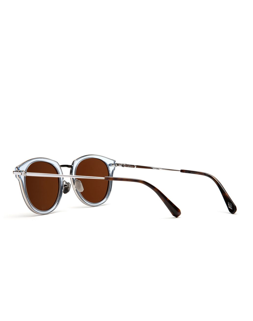 BRIONI Light Blue Sunglasses with Brown Lenses  Sunglasses Man d