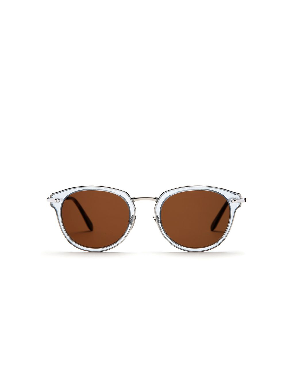 BRIONI Light Blue Sunglasses with Brown Lenses  Sunglasses [*** pickupInStoreShippingNotGuaranteed_info ***] f