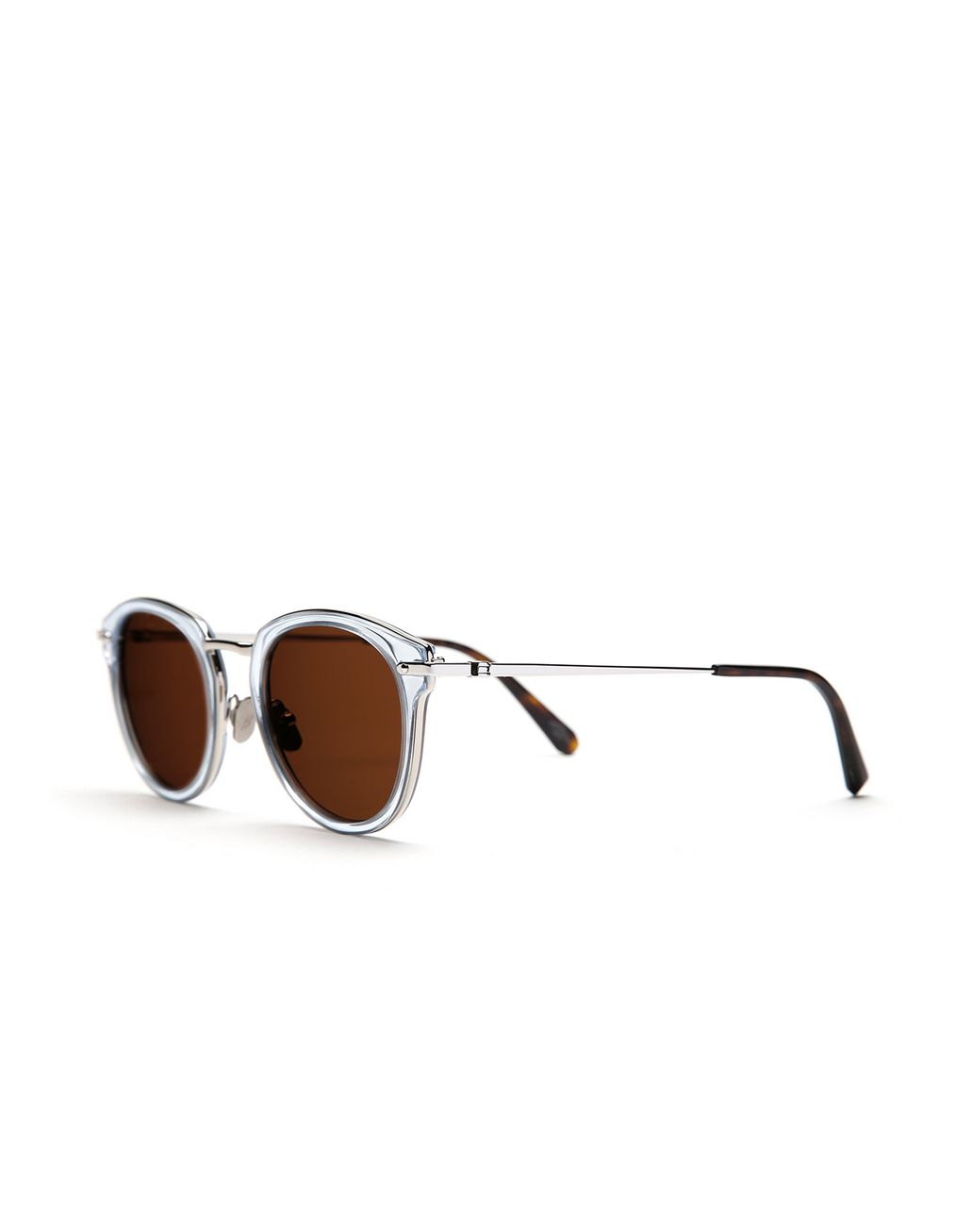 BRIONI Light Blue Sunglasses with Brown Lenses  Sunglasses [*** pickupInStoreShippingNotGuaranteed_info ***] r
