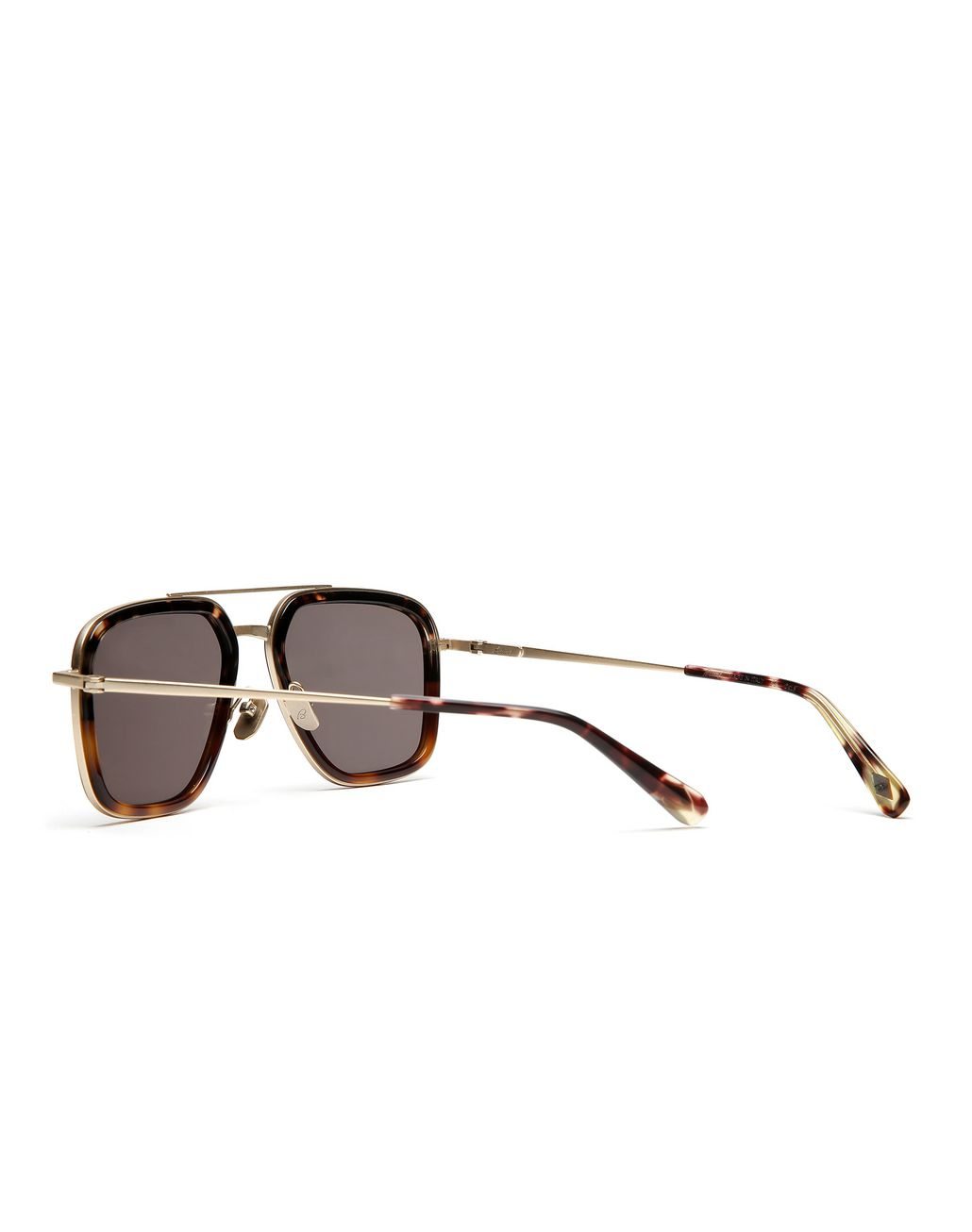 BRIONI Havana Geometric Shape Sunglasses with Grey Lenses  Sunglasses [*** pickupInStoreShippingNotGuaranteed_info ***] d