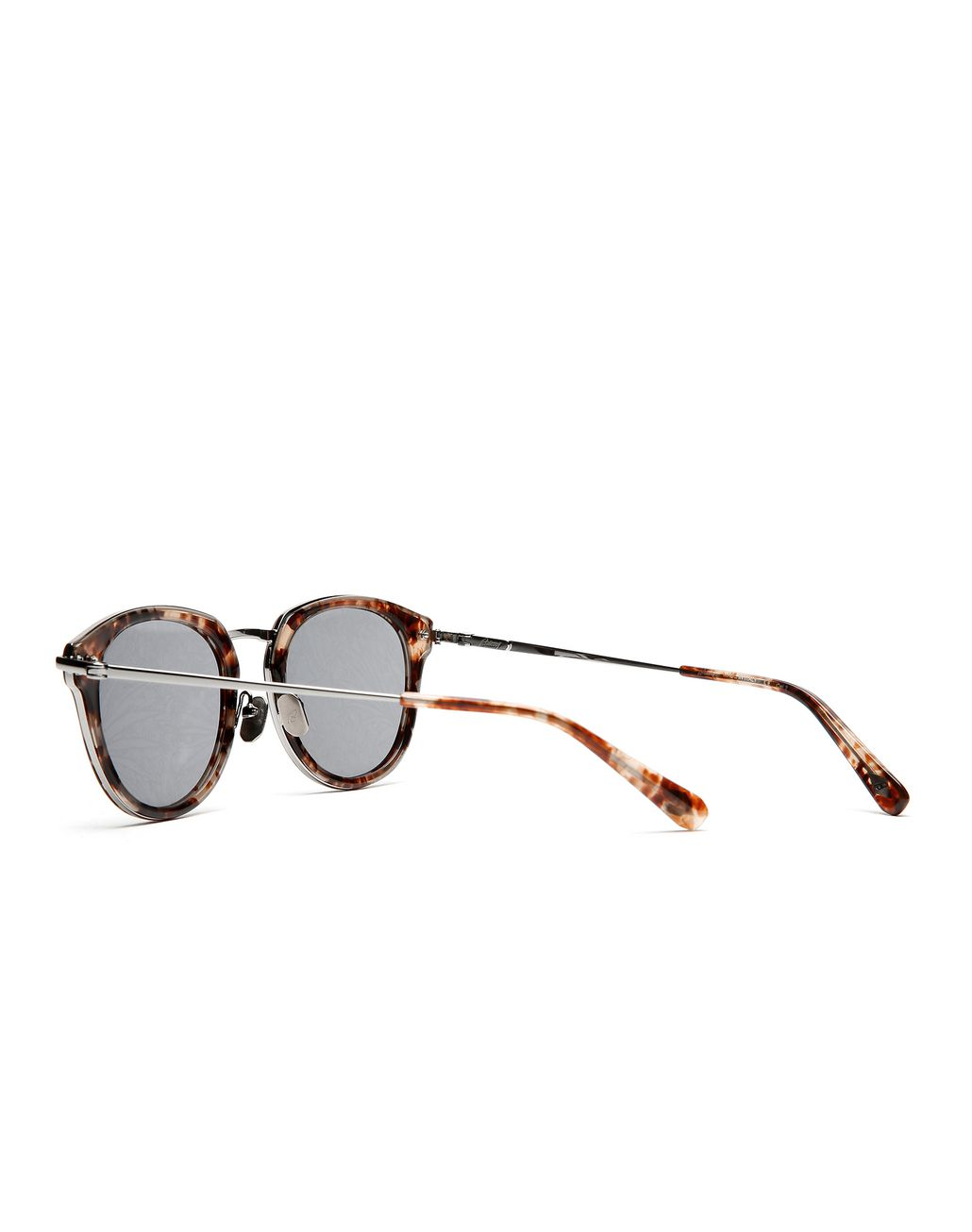 BRIONI Red Havana Sunglasses with Jungle Concept Grey Lenses Sunglasses Man d