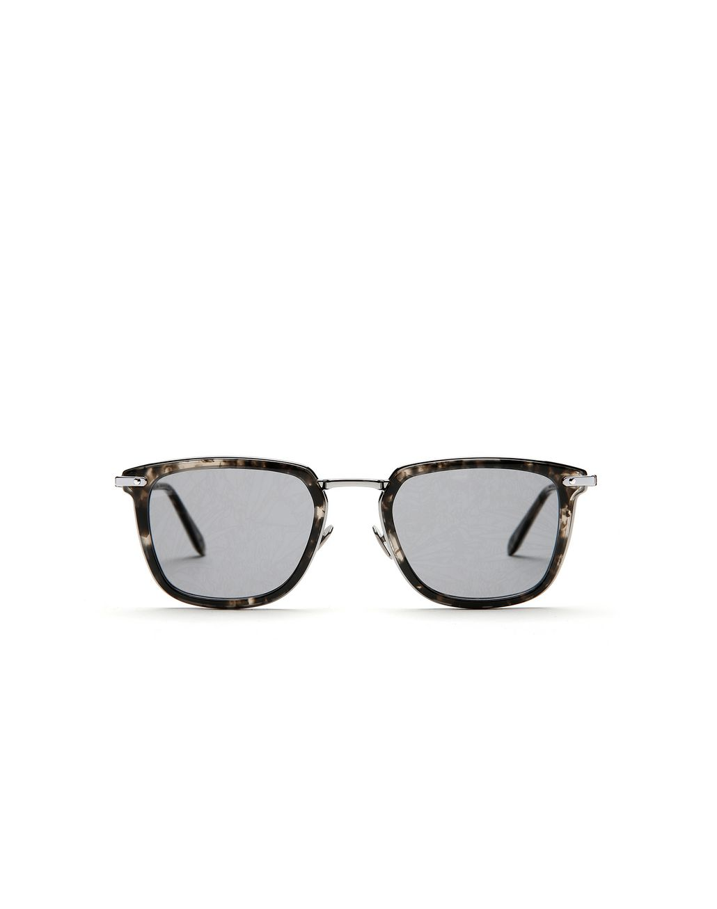 BRIONI Havana Grey Sunglasses with Jungle Concept Grey Lenses   Sunglasses Man f
