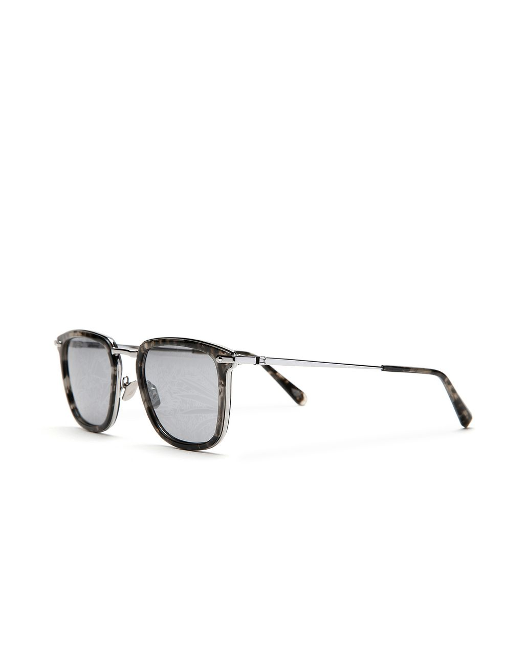 BRIONI Havana Grey Sunglasses with Jungle Concept Grey Lenses   Sunglasses Man r