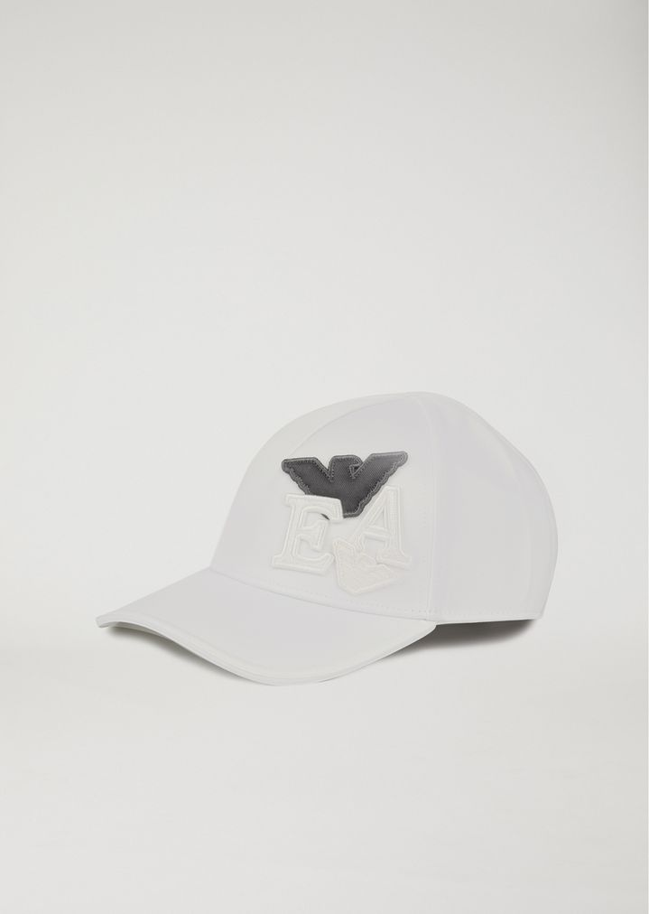 4e0578de9a816 Baseball cap with logo patches