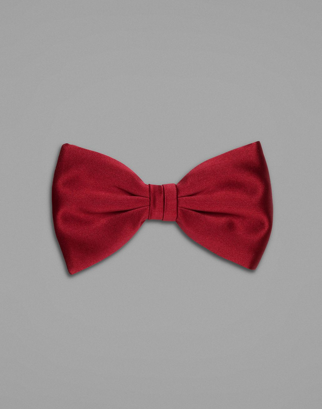 BRIONI Bordeaux Tied Bow Tie  Bow Ties & Cummerbunds Man f