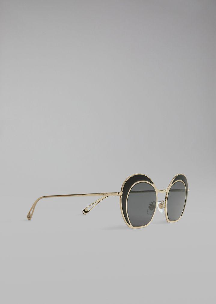 9a3f998cf0 Gafas de sol con puente metálico | Mujer | Giorgio Armani