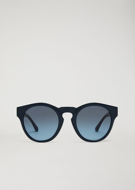 Sunglasses with contrasting insert