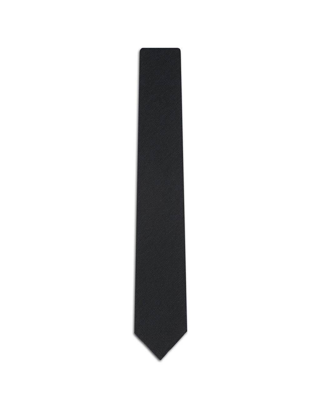 BRIONI Navy-Blue Unlined Tie Tie Man f