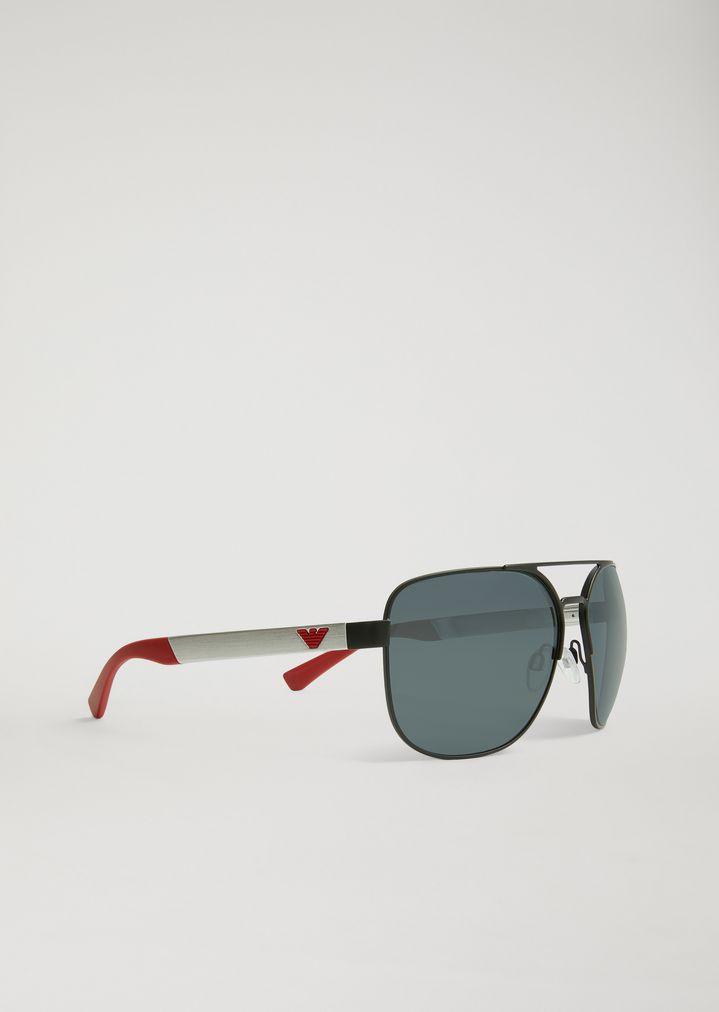 52df3ca963bf5 Gafas de sol aviador de caucho y aluminio