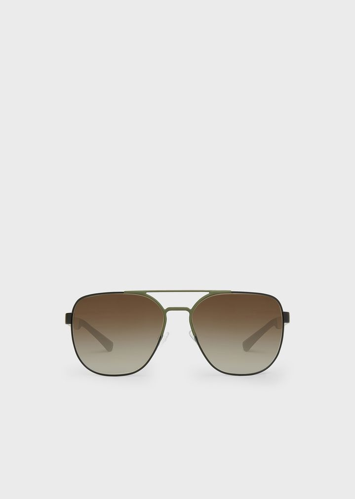72ecac557ba0 Aviator sunglasses in rubber   aluminium