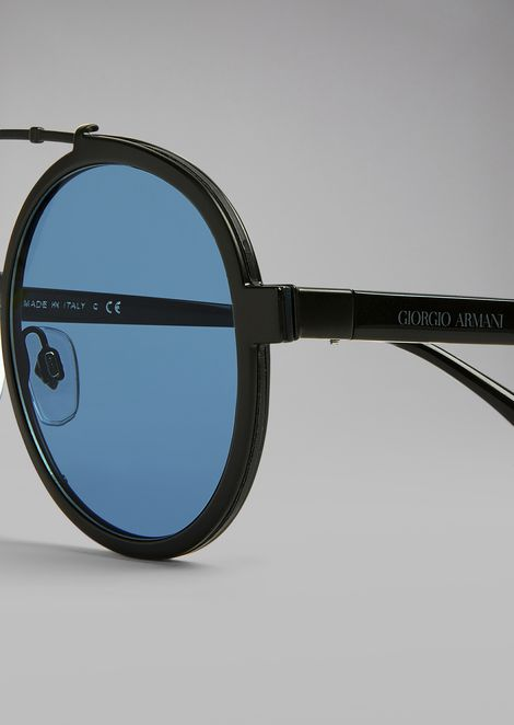 Catwalk sunglasses with rounded frame