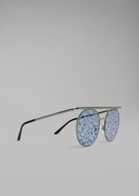 Catwalk sunglasses with floral lenses