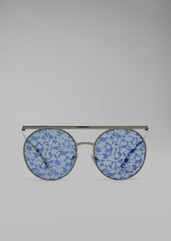 Gafas de sol con montura doble | Mujer | Giorgio Armani