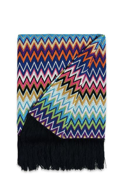 MISSONI HOME VLADIMIRO THROW Azure E - Back