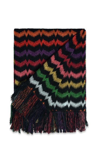 MISSONI HOME VERBENA THROW Black E - Back