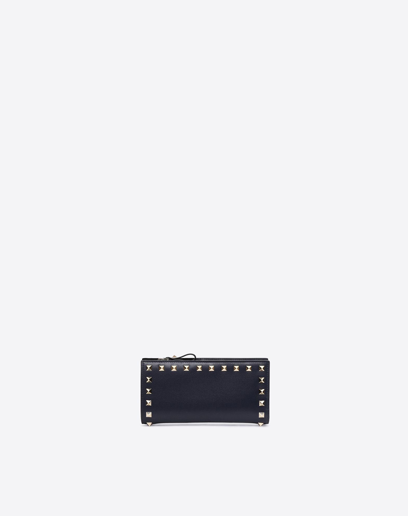 VALENTINO Studs Solid color Snap button fastening Internal card slots  46573106lr