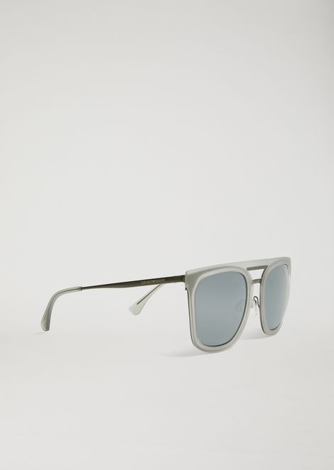 Shapes sunglasses in nylon and metal