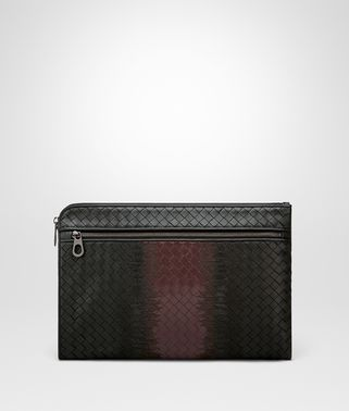 NERO INTRECCIATO NAPPA DOCUMENT CASE