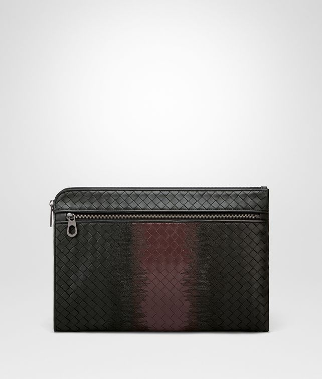 BOTTEGA VENETA NERO INTRECCIATO NAPPA DOCUMENT CASE Document case Man fp