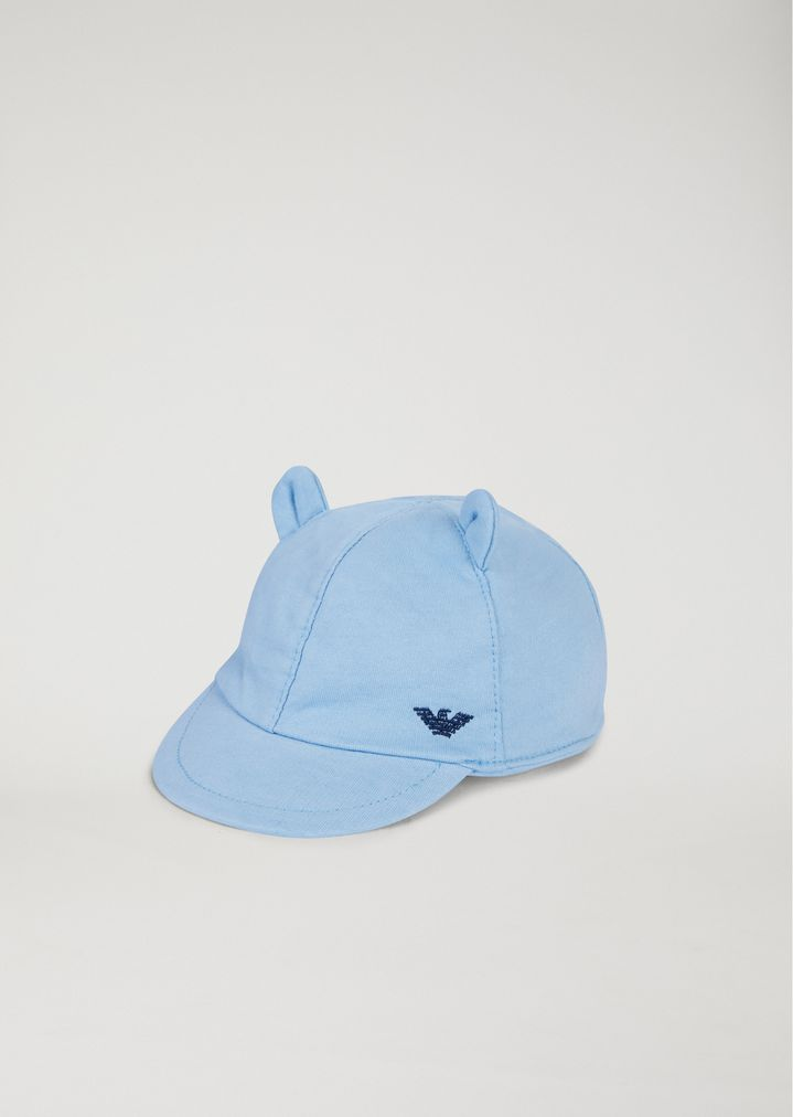quantità limitata store prezzo scontato Cappello con visiera e orecchie   Bambino   Armani Junior