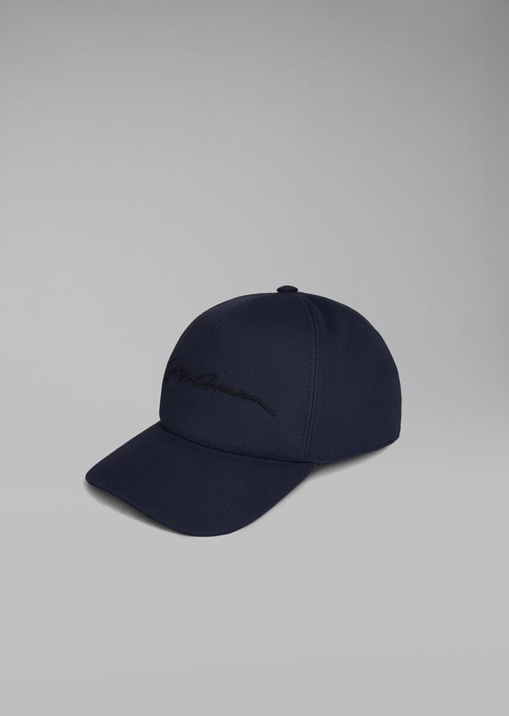 5c201755754 Cap with embroidered logo