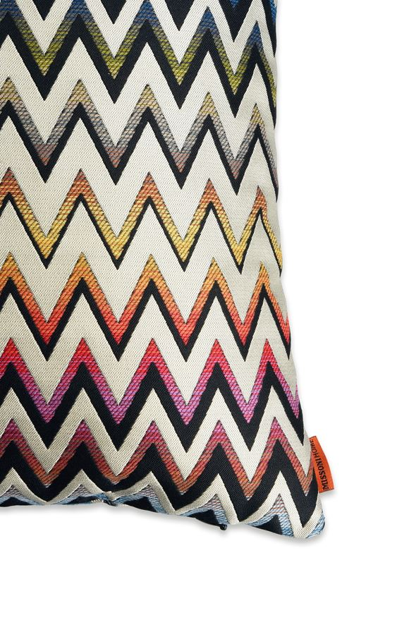 MISSONI HOME VERNAL CUSHION E, Rear view