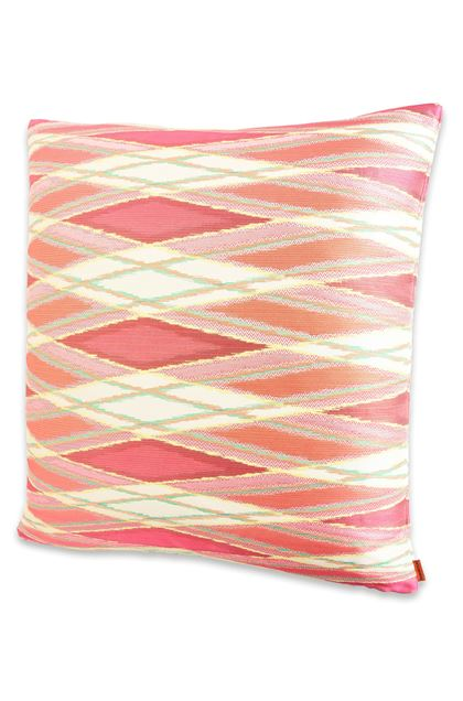 MISSONI HOME VULCANO CUSHION Coral E - Back