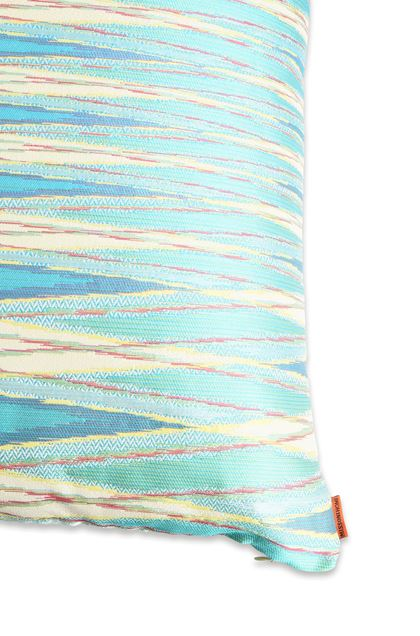 MISSONI HOME VULCANO CUSHION Light green E - Front