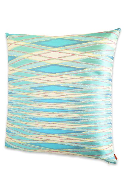 MISSONI HOME VULCANO CUSHION Light green E - Back