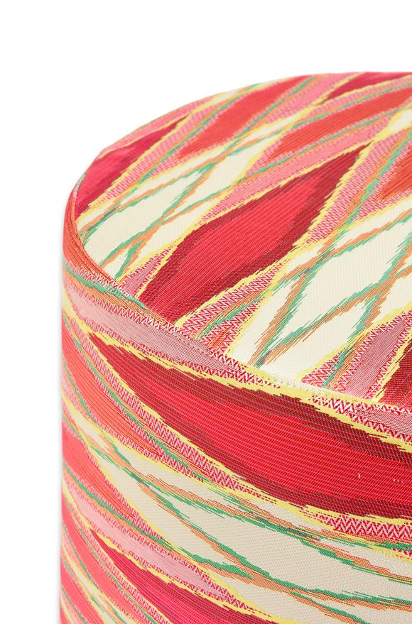 MISSONI HOME VULCANO CYLINDER POUF E, Rear view