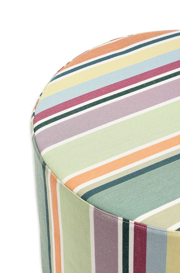 MISSONI HOME VALDEMORO CYLINDER POUF E, Rear view