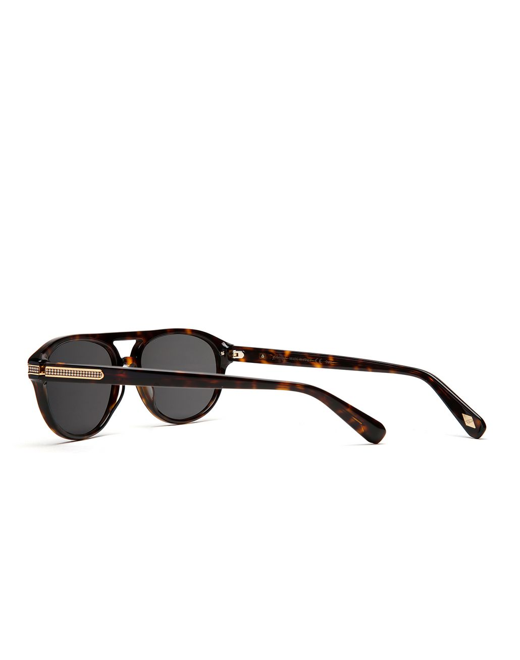 BRIONI Havana Sunglasses with Green Lenses  Sunglasses Man d