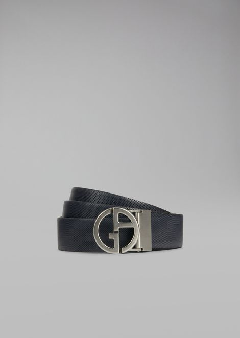 Grainy Calfskin Belt