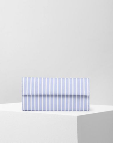 MM6 MAISON MARGIELA Stripe cotton wallet Wallet D f
