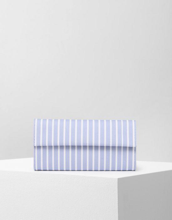 MM6 MAISON MARGIELA Stripe cotton wallet Wallet Woman f