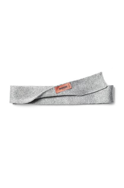 MISSONI Scarf Silver Man - Front