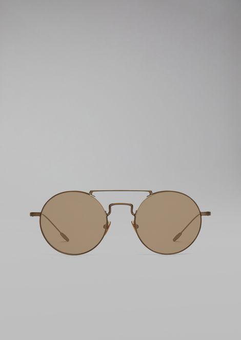 Catwalk sunglasses with rounded lenses