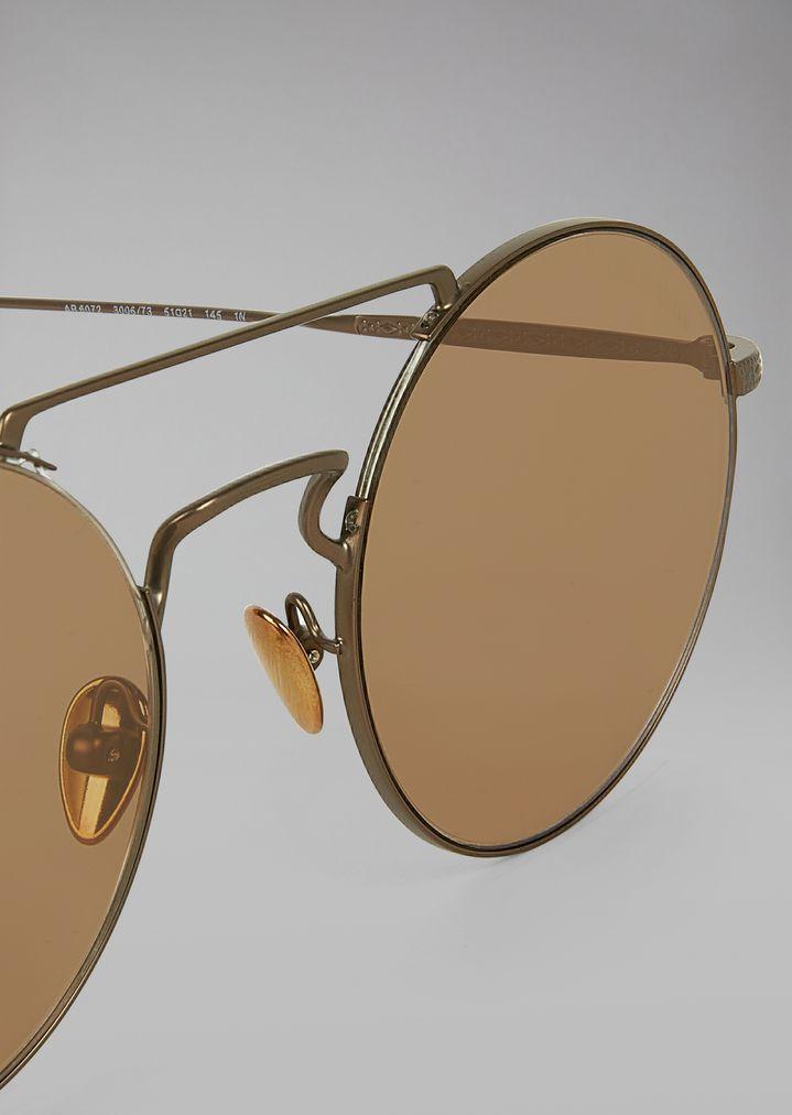 67523dac4 Catwalk sunglasses with rounded lenses | Man | Giorgio Armani