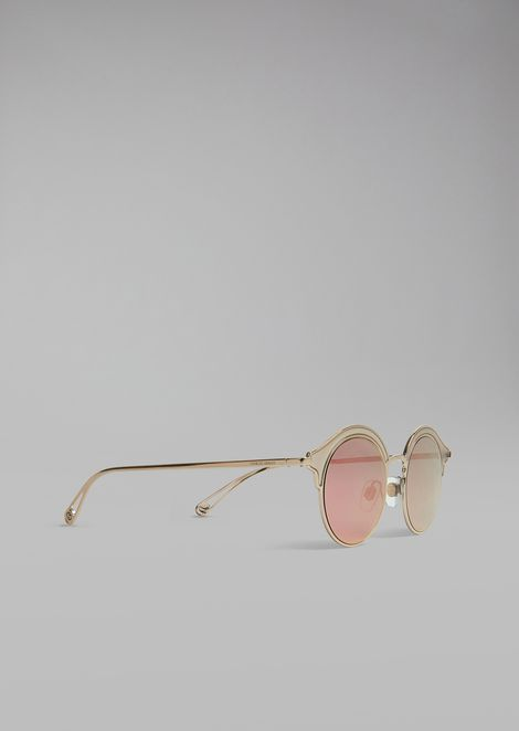 Sunglasses With Double Frame
