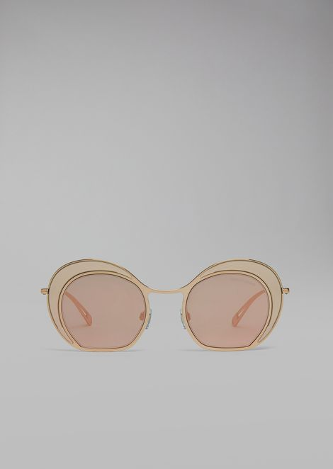 Sunglasses With Double Circle Frame